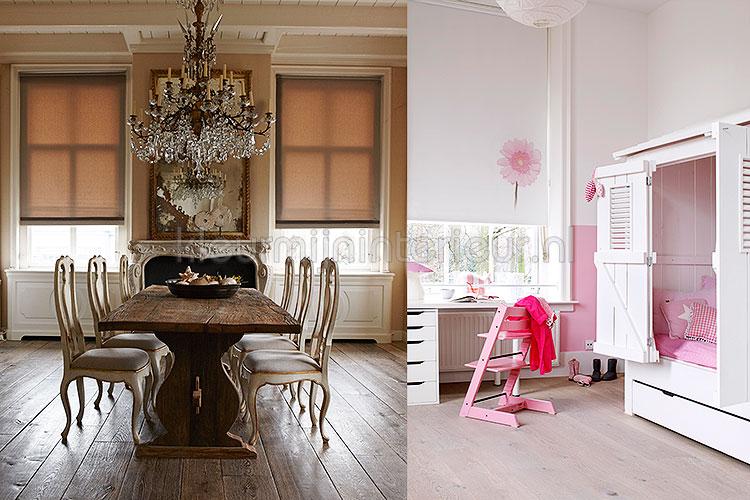 Beste Raamdecoratie Keuken : Rolgordijnen binnenzonwering kleurmijninterieur.nl