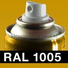 Spuitbus RAL 1005 Honing Geel