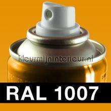 Spuitbus RAL 1007 Chromaatgeel