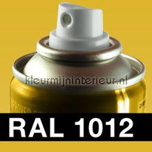 Spuitbus RAL 1012 Citroengeel