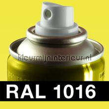 Spuitbus RAL 1016 Zwavelgeel