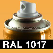 Spuitbus RAL 1017 Saffraangeel
