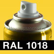 Spuitbus RAL 1018 Zink Geel