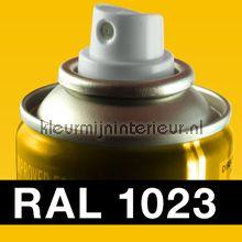 Spuitbus RAL 1023 Verkeers Geel