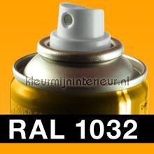 Spuitbus RAL 1032 Brem Geel
