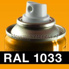 Spuitbus RAL 1033 Dahlia Geel