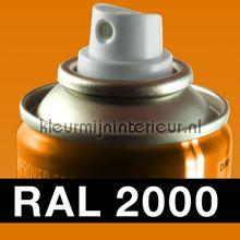 Spuitbus RAL 2000 Geel-Oranje