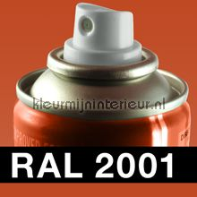 Spuitbus RAL 2001 Oranje-Rood