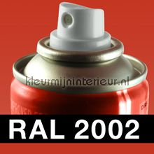 Spuitbus RAL 2002 Bloed Oranje