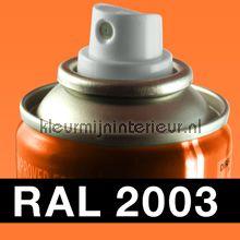 Spuitbus RAL 2003 Pastel Oranje
