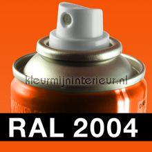 Spuitbus RAL 2004 Helder Oranje