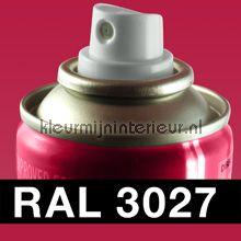 Spuitbus RAL 3027 Frambozenrood