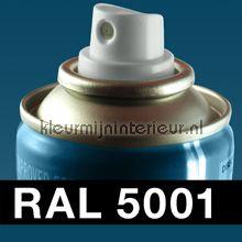Spuitbus RAL 5001 Blauwgroen