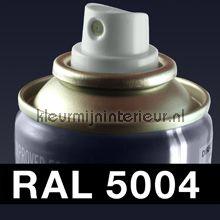 Spuitbus RAL 5004 Blauwzwart