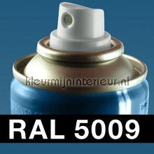 Spuitbus RAL 5009 Azuurblauw