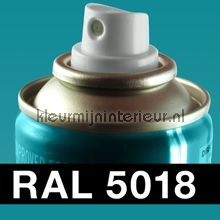 Spuitbus RAL 5018 Turquoise