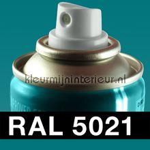 Spuitbus RAL 5021 Water Blauw