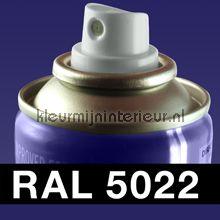 Spuitbus RAL 5022 Nacht Blauw