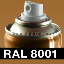 Spuitbus RAL 8001 Oker Bruin