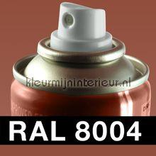 Spuitbus RAL 8004 Koper Bruin