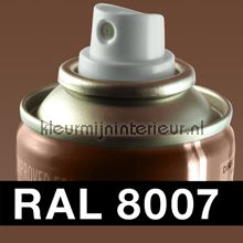 Spuitbus RAL 8007 Ree Bruin