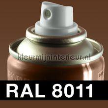Spuitbus RAL 8011 Noten Bruin