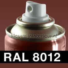 Spuitbus RAL 8012 Roodbruin