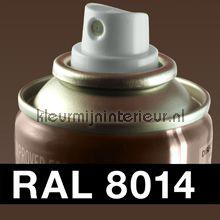 Spuitbus RAL 8014 Sepia Bruin