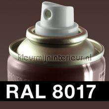 Spuitbus RAL 8017 Chocolade Bruin
