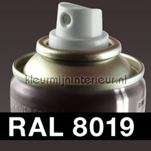Spuitbus RAL 8019 Grijsbruin