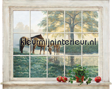 Mare & Foal Accent Window