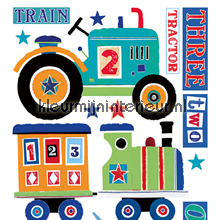 Transportation big sticker interieurstickers York Wallcoverings Baby Peuter
