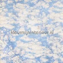 Wolken fotobehang Behang Expresse Bossen