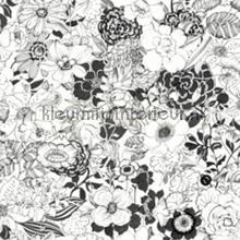 Bloemen vintage zwart wit