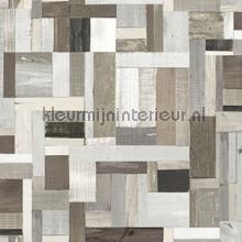 Sloophout vintage beige taupe papel de parede Esta home madeira