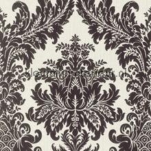 Textiele damask wit-zwart papel pintado Rasch barroco