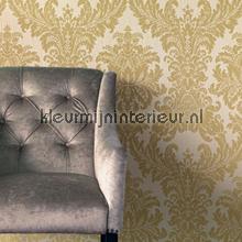 Textiele damask zand papel pintado Rasch barroco