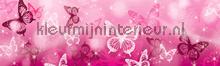 Pink butterflies rand