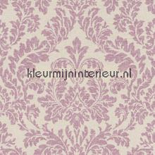 Ornament lila papel pintado Rasch barroco