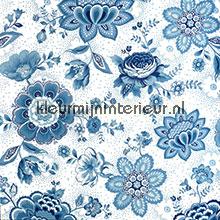 Pip Folklore Chintz Licht Blauw fotobehang Eijffinger romantisch modern