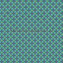 PIP geometric blauw-groen behang fotobehang Eijffinger romantisch modern