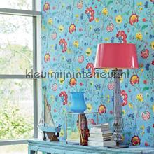 PiP Floral Fantasy Licht Blauw fotobehang Eijffinger romantisch modern