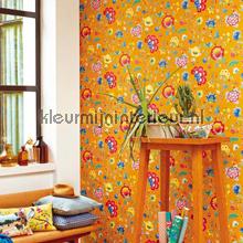 PiP Floral Fantasy Geel fotobehang Eijffinger romantisch modern