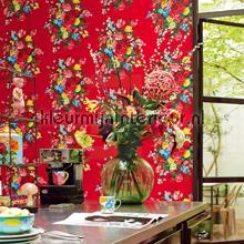 PiP Dutch Painters Rood fotobehang Eijffinger romantisch modern