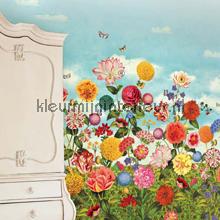 PiP Wild flowerland behang fotobehang Eijffinger PiP studio wallpaper