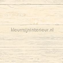 Soft cloured wooden planks papel de parede Dutch Wallcoverings madeira