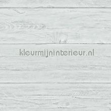 Light blue wooden planks papel de parede Dutch Wallcoverings madeira