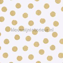Gouden glitter stippen