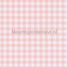 Pastel ruit zacht roze