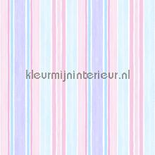 Pastelstrepen blauw roze